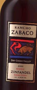 Rancho Zabaco Zinfandel Dry Creek Valley